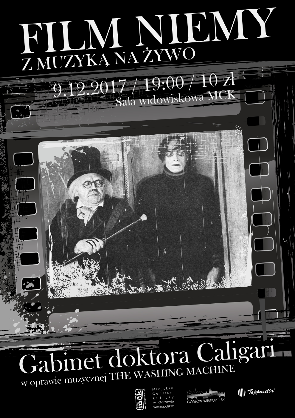 Film niemy Gabinet doktora Caligari