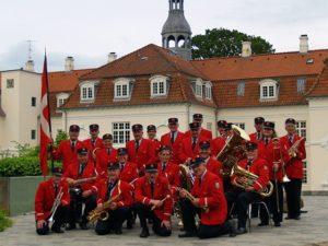 Grafika wpisu Reprezentacyjna Orkiestra Poczty Duńskiej – koncert przy Bimbie w Centrum Gorzowa