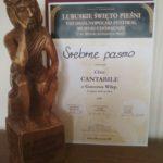 Nagroda Srebrne pasmo dla Chóru Cantabile, VIII Ogólnopolski Festiwal Muzyki Chóralnej, Sława 2019