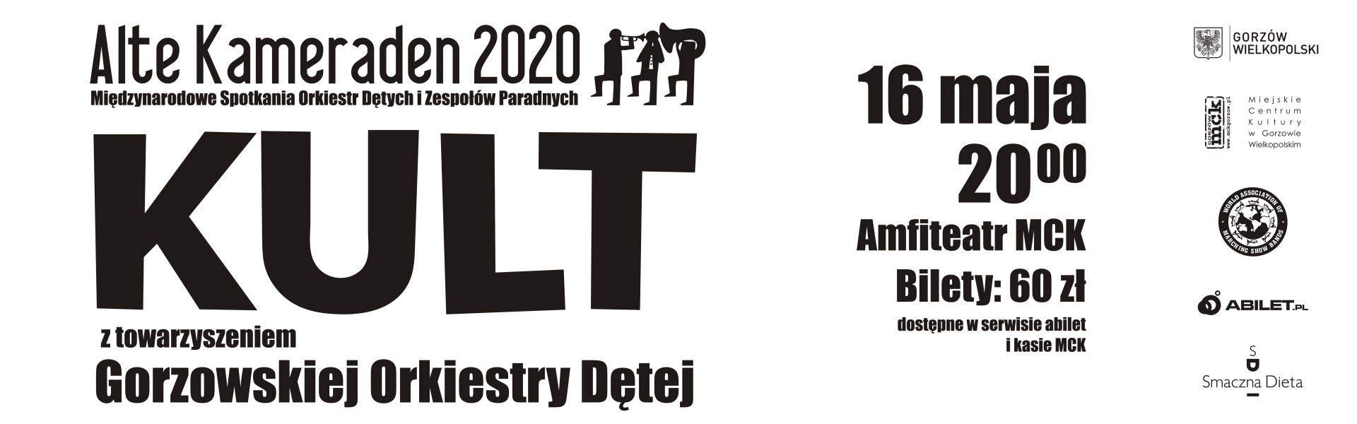 Baner Alte Kameraden 2020 KULT z towarzyszeniem Gorzowskiej Orkiestry Dętej 16 maja 2020