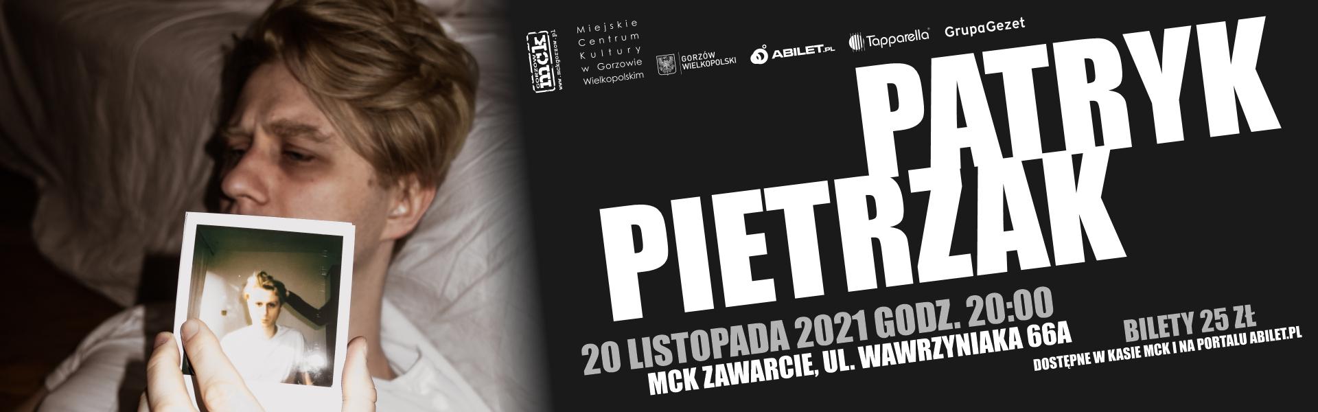 Grafika Patryk Pietrzak- koncert w MCK Zawarcie