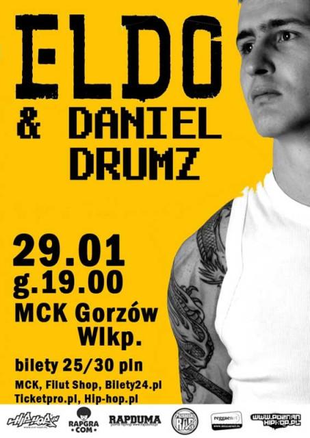 Grafika wydarzenia ELDO / DANIEL DRUMZ