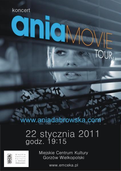 Grafika wydarzenia Ania Dąbrowska – koncert w Gorzowie
