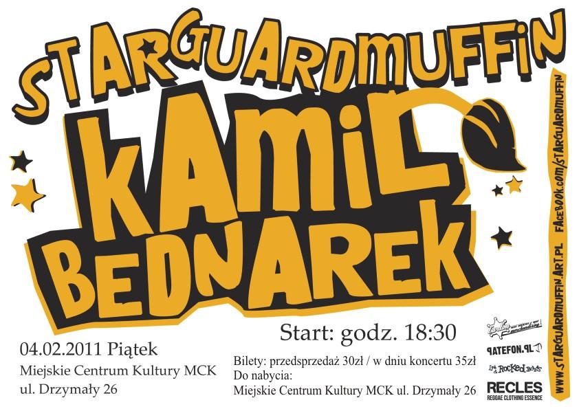 Grafika wydarzenia Kamil Bednarek z Star Guard Muffin
