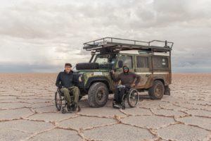 Grafika wpisu Wheelchairtrip – Michał Woroch i Maciej Kamiński