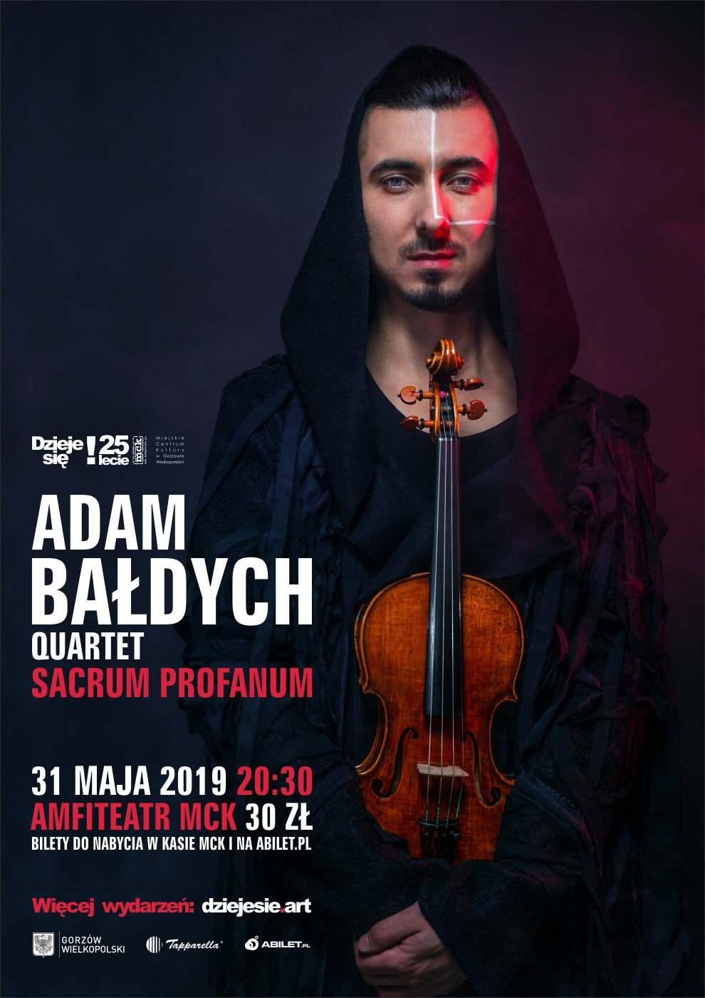 """Grafika wydarzenia Koncert Adam Bałdych """"Sacrum Profanum"""""""