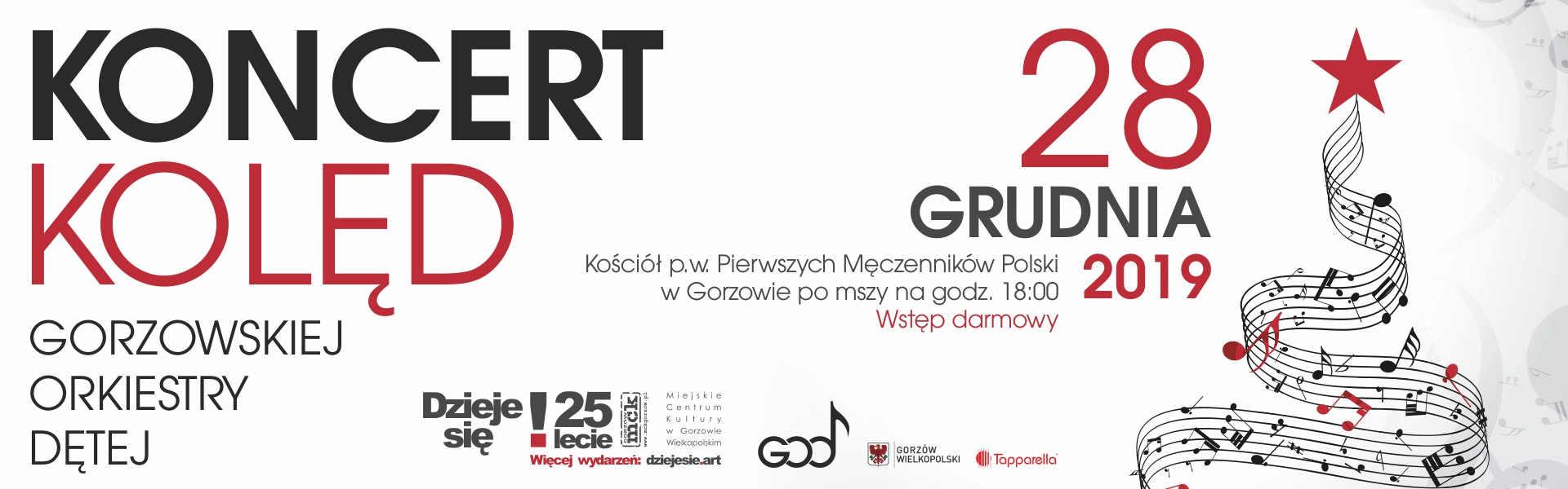 Koncert Kolęd Gorzowskiej Orkiestry Dętej