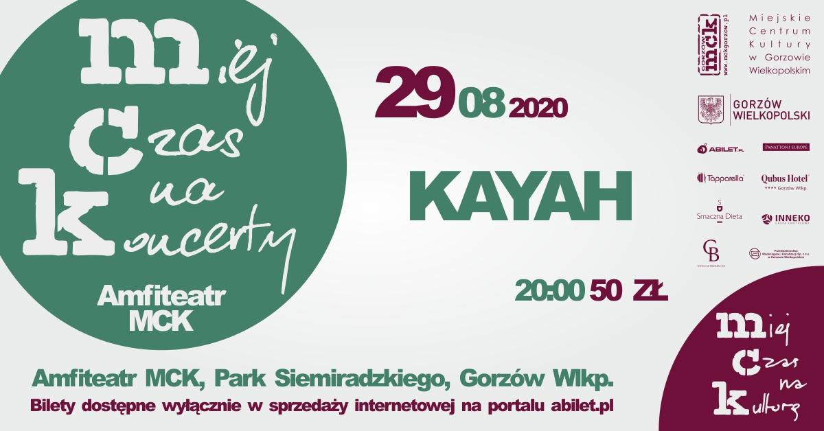 Grafika wydarzenia Miej Czas na Koncerty – Kayah