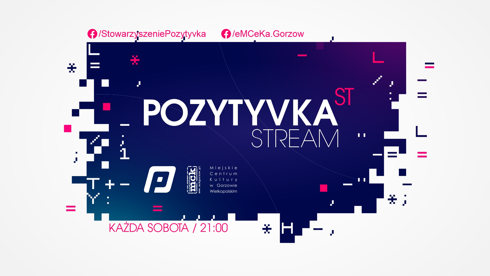 Grafika wpisu Pozytyvka'st Stream – Souhl