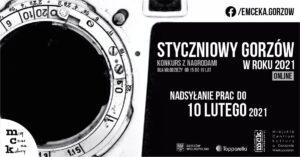 """Grafika wpisu Konkurs fotograficzny """"Styczniowy Gorzów w roku 2021"""" rozstrzygnięty."""