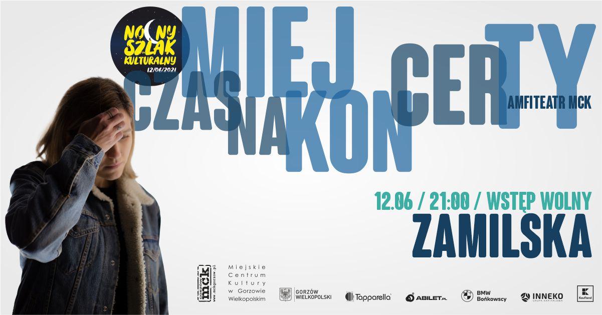 """Grafika wpisu NSK 2021 – koncert Natalii Zamilskiej i wystawa obrazów """"New Ancient 2"""""""