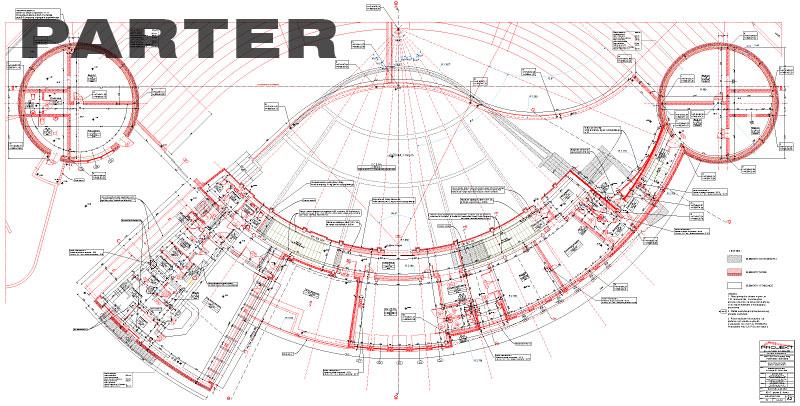 Plan Amfiteatr - Parter
