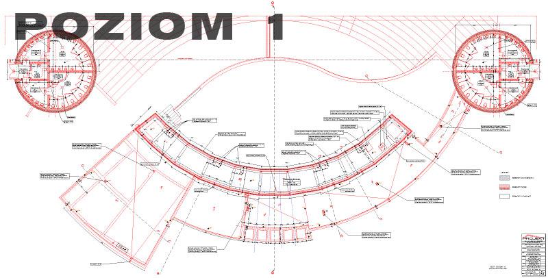Plan Amfiteatr - Poziom 1