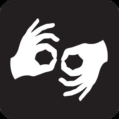piktogram tłumaczenie na język migowy