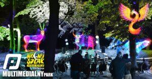 Grafika wpisu Multimedialny Park – Nocny Szlak Kulturalny 2021