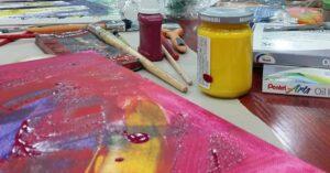 Grafika wpisu Malarstwo intuicyjne- warsztat twórczy