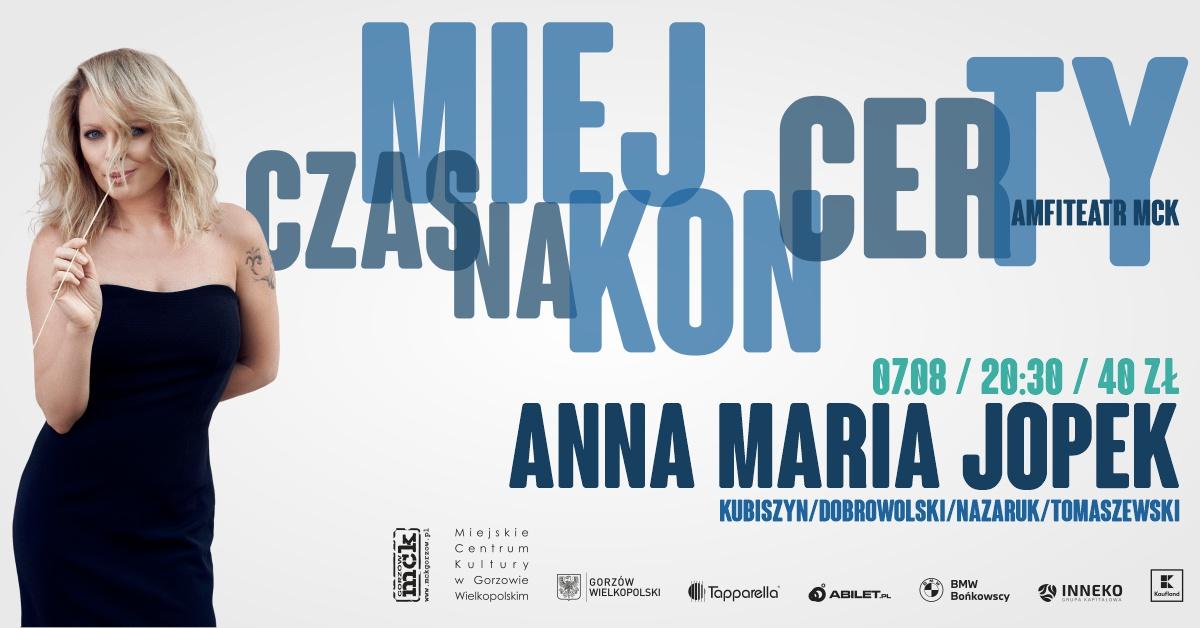 Grafika wydarzenia Miej Czas na Koncerty – ANNA MARIA JOPEK