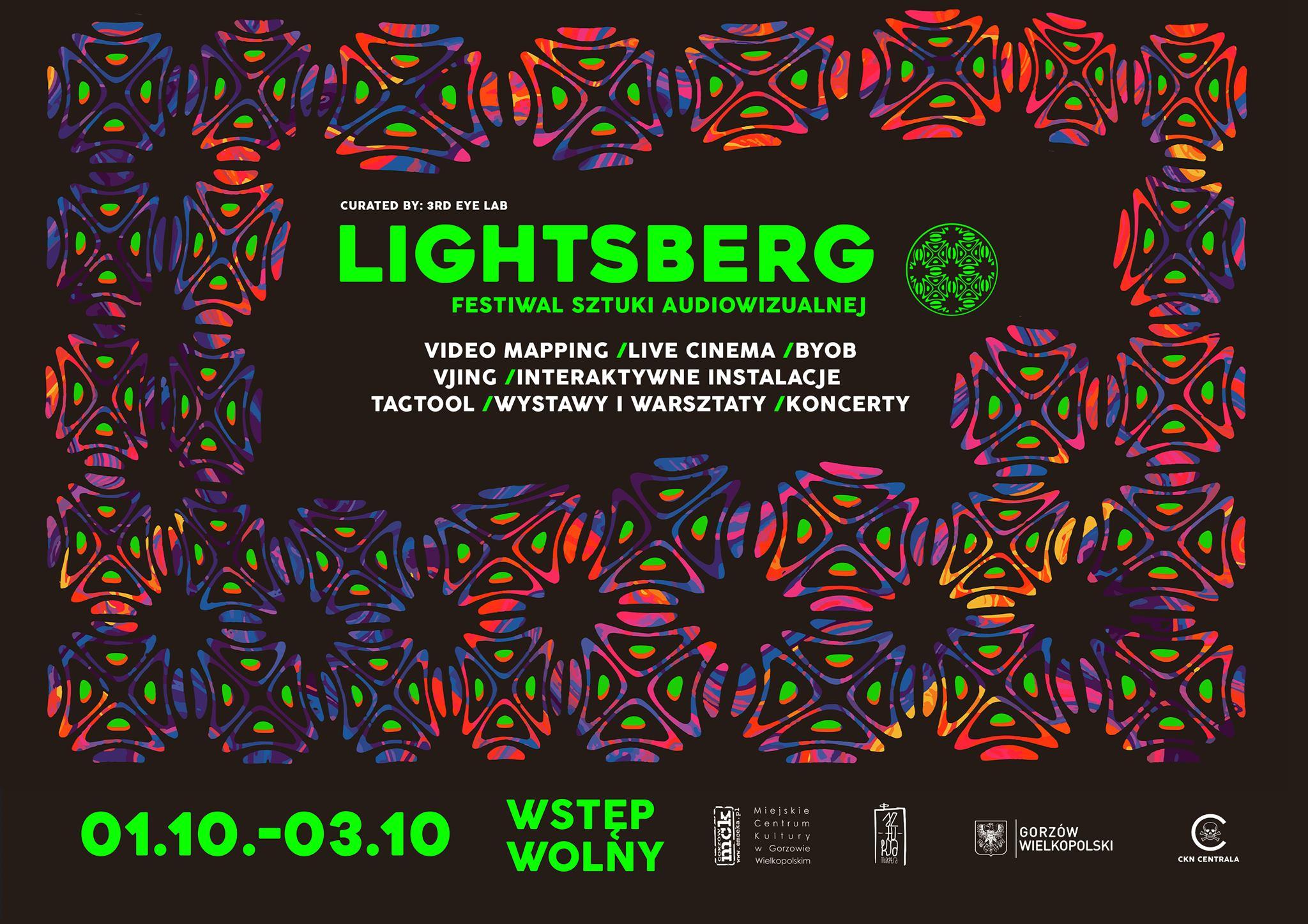 Grafika wpisu LIGHTSBERG – Festiwal Światła i Sztuki Audiowizualnej