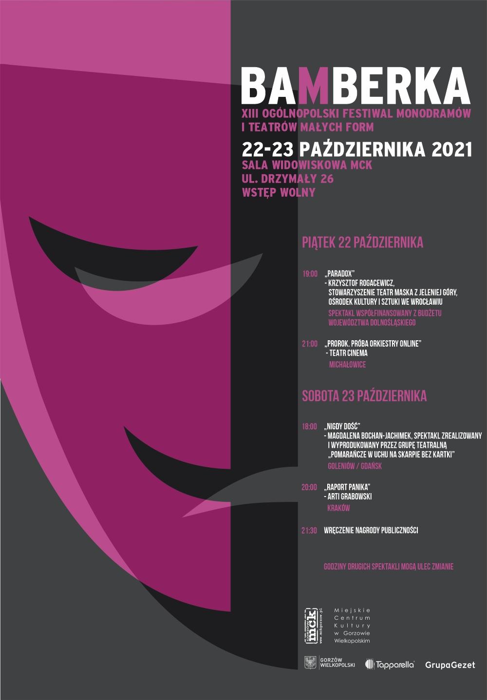 Grafika wydarzenia Bamberka 2021